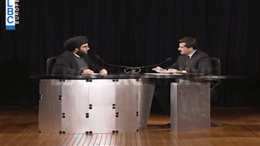 Lebanon News - First interview of Hezbollah chief Nasrallah on LBCI in 1995