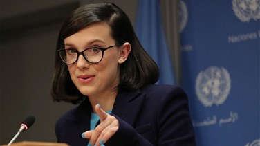 Lebanon News - Netflix star Millie Bobby Brown, 14, named youngest-ever UNICEF envoy
