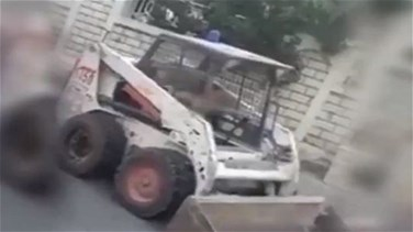 Lebanon News - ISF fines father of a 6-year-old driving a bobcat-[VIDEO]