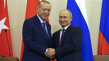 Lebanon News - Erdogan tells Putin Syrian offensive is causing humanitarian crisis