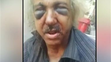 Lebanon News - Old homeless man brutally beaten in Beirut-[VIDEO]