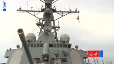 Lebanon News - USS Ramage destroyer in Lebanon for one day