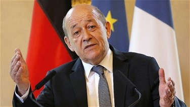 Lebanon News - Le Drian says authorities in Lebanon must take action to end the crisis