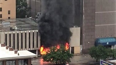 Lebanon News - Large explosion rips through building in Houston, Texas - police -[VIDEO]