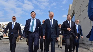Lebanon News - Ministers of Interior and Public Works inspect Beirut airport-[PHOTO]