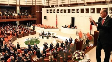 Lebanon News - Turkish parliament strips status of three opposition MPs