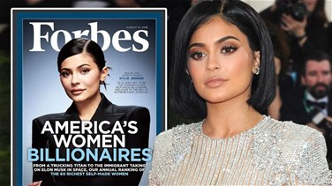 Lebanon News - Not a billionaire, but Kylie Jenner is highest-paid celebrity, Forbes says
