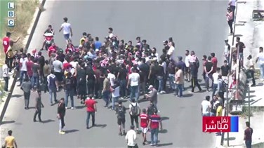 Lebanon News - Tensions among protesters at Martyrs Square – [VIDEO]