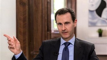 Lebanon News - Syria Assad stops speech due to low blood pressure before resuming -state TV