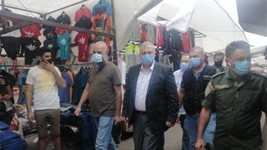 Lebanon News - Governor of Beirut inspects Sunday flea market-[VIDEO]