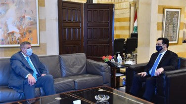 Lebanon News - Diab meets UN's Kubis, MP Hassan Ezzeddine