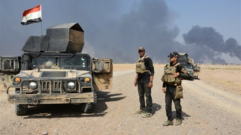 Iraqi forces close in on town south of Mosul