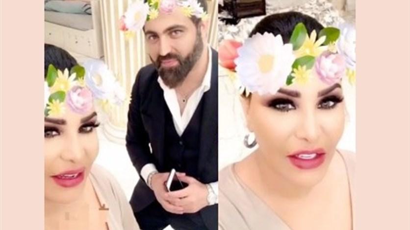 95f1f5082 بالفيديو: شاهدوا فخامة حفل خطوبة أخت أحلام الأسطوري.. والزفاف المميز في  باريس. LBCI News Lebanon