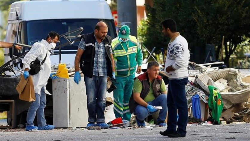 Suspected suicide bomber kills three police in southern Turkey