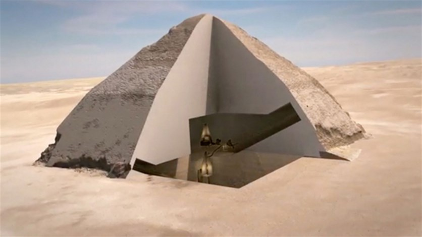 [PHOTOS] Two Mysterious 'Secret Chambers' Discovered Inside Egypt's Great Pyramid