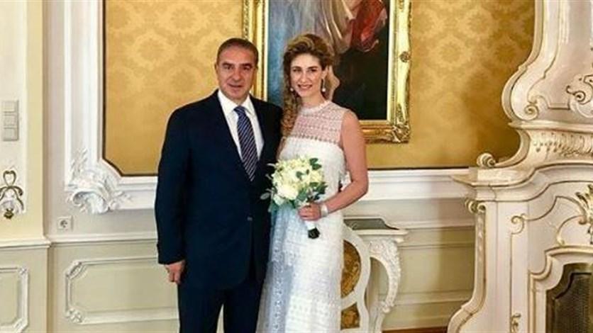 365fdf90b زواج ابنة ميشال فرعون مدنيًا في فيينا... إليكم إطلالتها بالصور. LBCI News  Lebanon