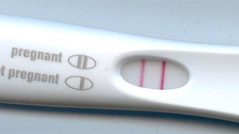 اختبار الحمل ايجابي ولست 1