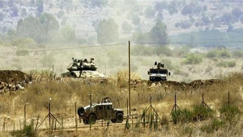 دورية اسرائيلية حاولت خطف أحد الرعاة في جبل الشحل