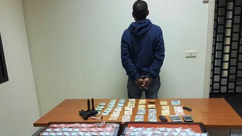 """توقيف احد اكبر تجّار المخدرات """"بالجملة"""" في محافظة جبل لبنان."""