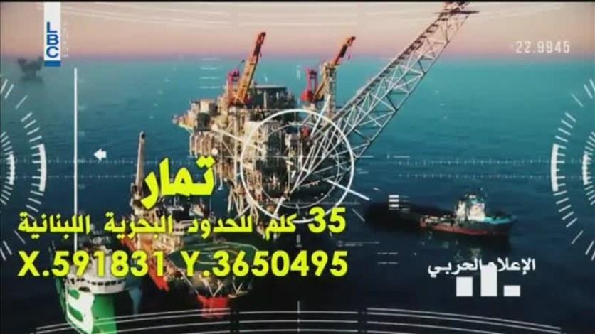 Image result for منصات النفط الإسرائيلية