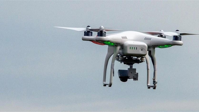 طائرة بدون طيار لتوصيل السحور