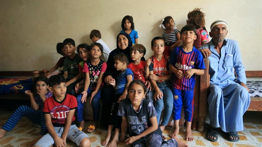 مأساة جدّة عراقية... 22 حفيدا تحت جناحيها بعدما جرّدهم داعش من أبائهم