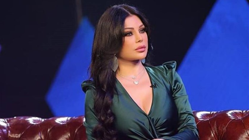 "82378c36a هيفاء وهبي بشعرٍ زهري.. كقطعة حلوى ""الكب كيك""! (صور. LBCI News  Lebanon"