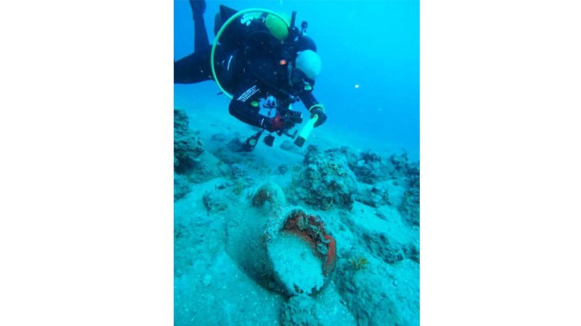 Ancient Greek ruins discovered underwater south of Tyre