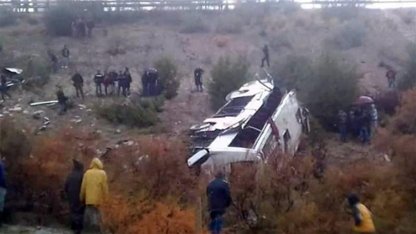 17 ضحيّة في انقلاب حافلة في المغرب