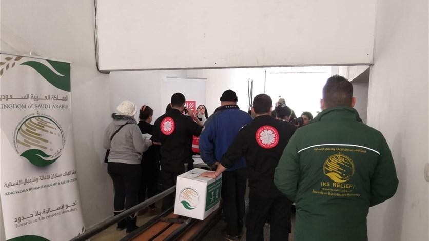 مركز الملك سلمان للإغاثة والأعمال الإنسانية يختتم مشروع توزيع