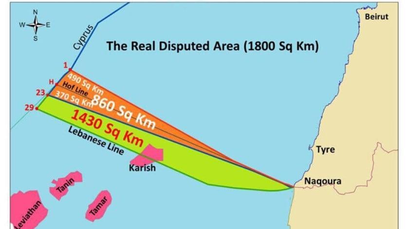 لبنان يحضّر مرسوماً يُحدّد الخط البحري الجنوبي لتعزيز موقفه في المفاوضات