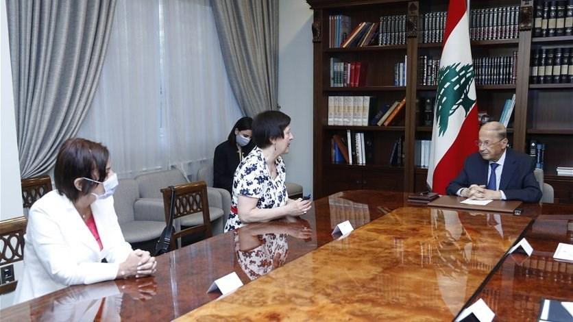 New UN Special Coordinator for Lebanon meets Lebanese officials