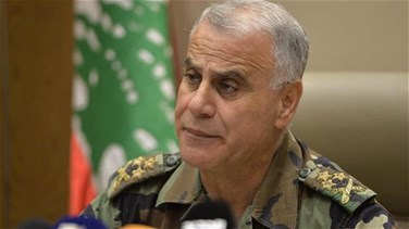 Lebanon army chief sees growing risk from Syrian camps