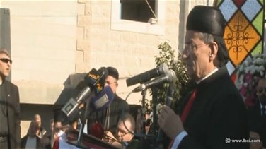 Patriarch Rai calls from Tartus for holding dialogue, ending...