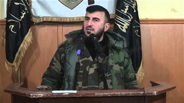 REPORT: Top Syrian rebel leader killed in air strike in Damascus...