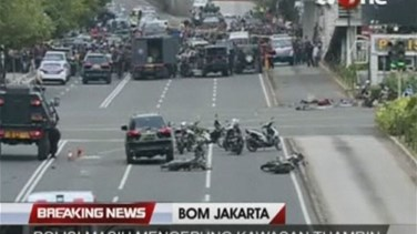 REPORT: Islamic State militants attack Jakarta in first strike...