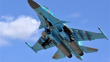 "Russian air force continues pounding ""terrorists"" in..."