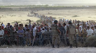 Turkey will take refugees fleeing Syrian forces 'when...