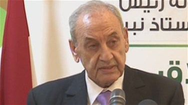 Berri says Lebanon cannot give up on resistance