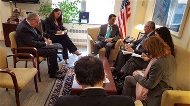 REPORT: Minister Hassan Khalil continues meetings in Washington,...