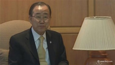 REPORT: Ban Ki-moon says International Community is ready to...