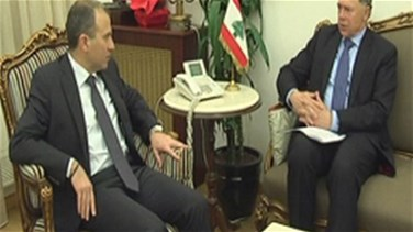 Bassil and Jones discuss Syrian refugee crisis
