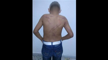 [PHOTOS] ISF arrests Syrian man for beating his son with...