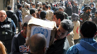 Civilians risk starvation at Damascus camp-UNRWA