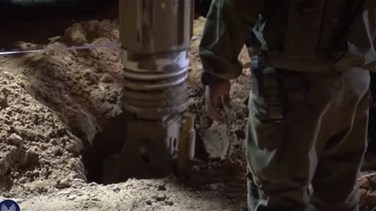 Israel uncovers Hamas tunnel from Gaza, says new war unlikely
