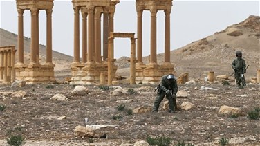 Syria's ancient Palmyra has been demined - Russian military
