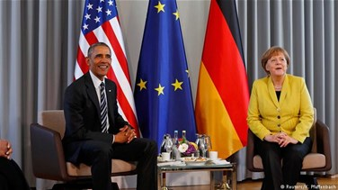 "Obama says Merkel is on ""right side of history"" on..."