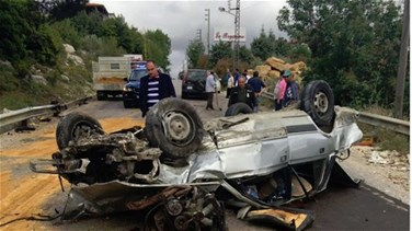 [PHOTO] One person killed, another injured as car overturns in...
