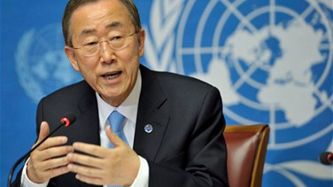 UN chief Ban calls for halving of numbers of displaced by 2030