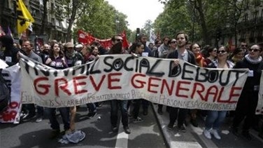 REPORT: Police fire teargas, water cannon during Paris labor law...